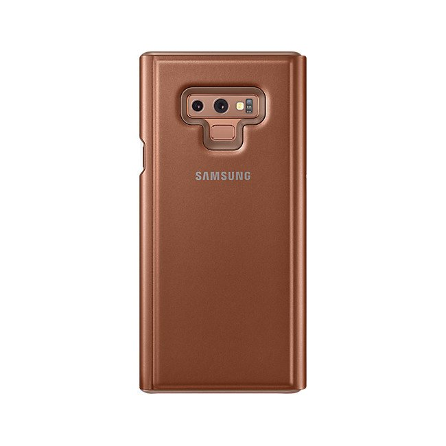 Etui Clear View Standing do Galaxy Note 9 Brązowe (EF-ZN960CAEGWW) / OUTLET